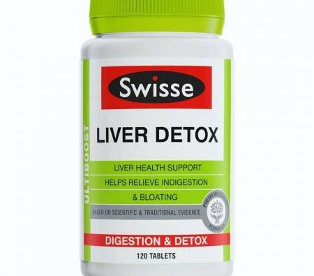 Giải độc gan - Swisse - Liver Detox 60 viên