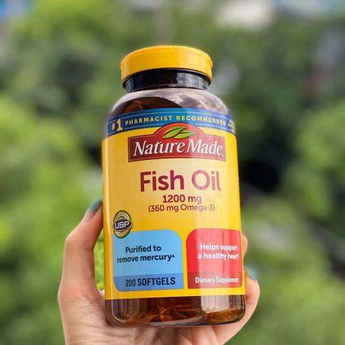 DẦU CÁ FISH OIL MỸ