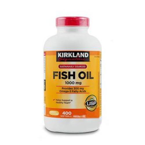 DẦU CÁ FISH OIL MỸ HÃNG KIRKLAND