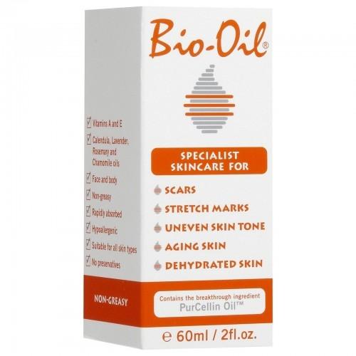 Tinh dầu Bio-Oil làm mờ sẹo, thâm nám, vết rạn da  125ml