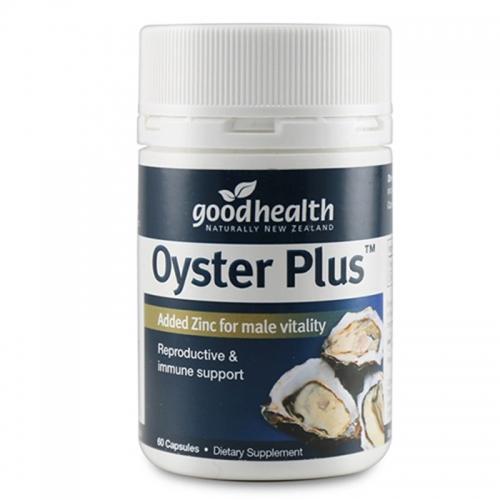 Tinh Chất Hàu Oyster Plus Goodhealth, 60 viên